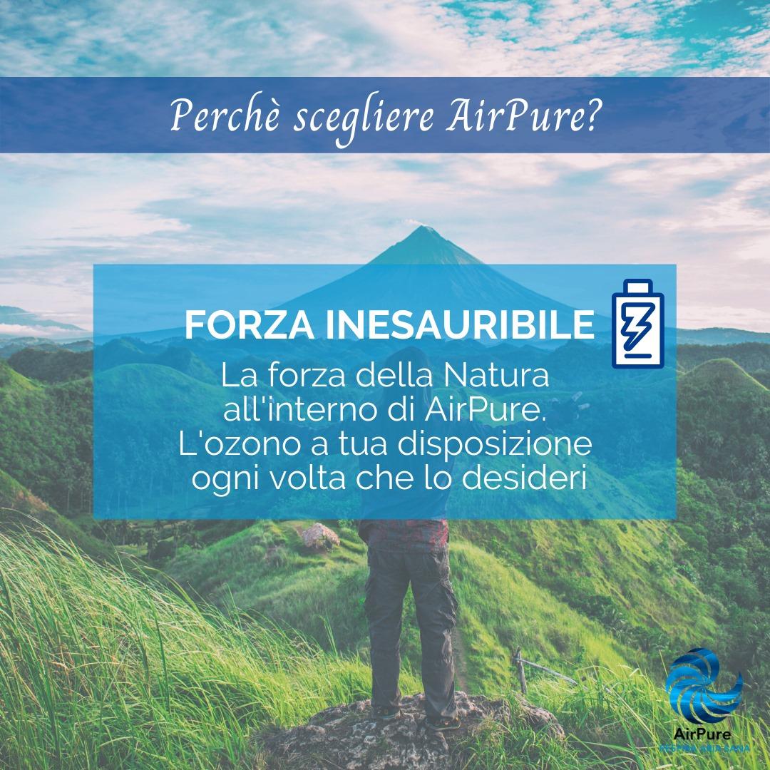 airpure ozono ambiente sanificato